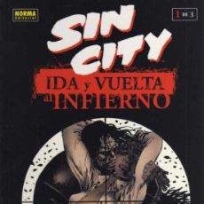 Cómics: SIN CITY - IDA Y VUELTA AL INFIERNO 1 DE 3 - FRANK MILLER - NORMA EDITORIAL. Lote 27884965