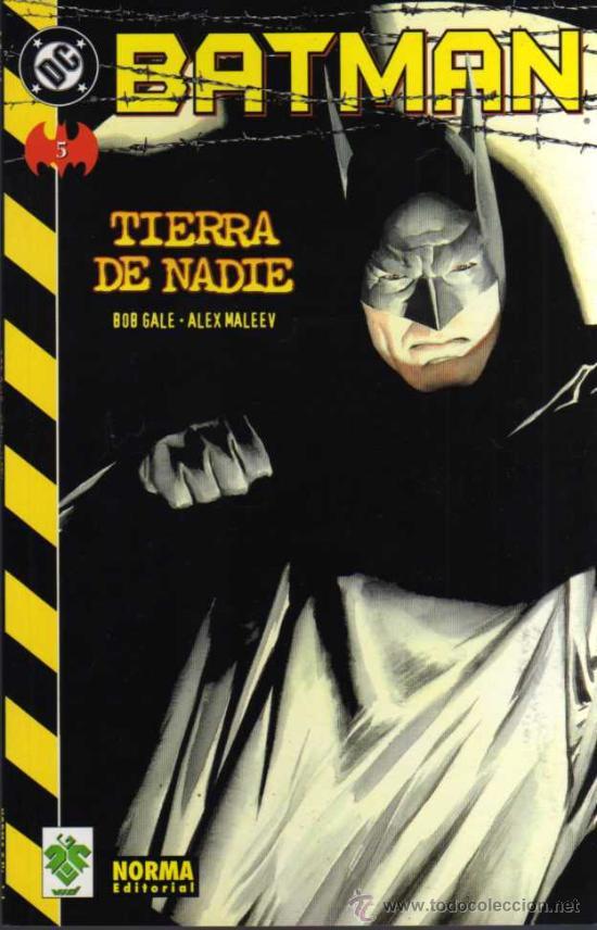 BATMAN - TIERRA DE NADIE Nº 5 - DC/VID/NORMA (Tebeos y Comics - Norma - Comic USA)