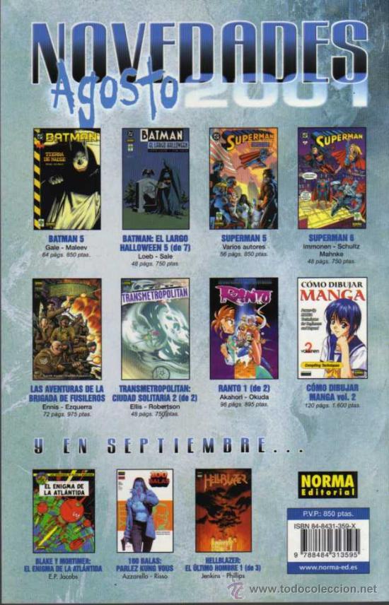 Cómics: BATMAN - TIERRA DE NADIE Nº 5 - DC/VID/NORMA - Foto 2 - 27885165