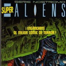 Cómics: SUPER ALIENS - SERIE NOSTROMO - RETAPADO NÚMEROS 1 AL 5 - NORMA EDITORIAL. Lote 28018567
