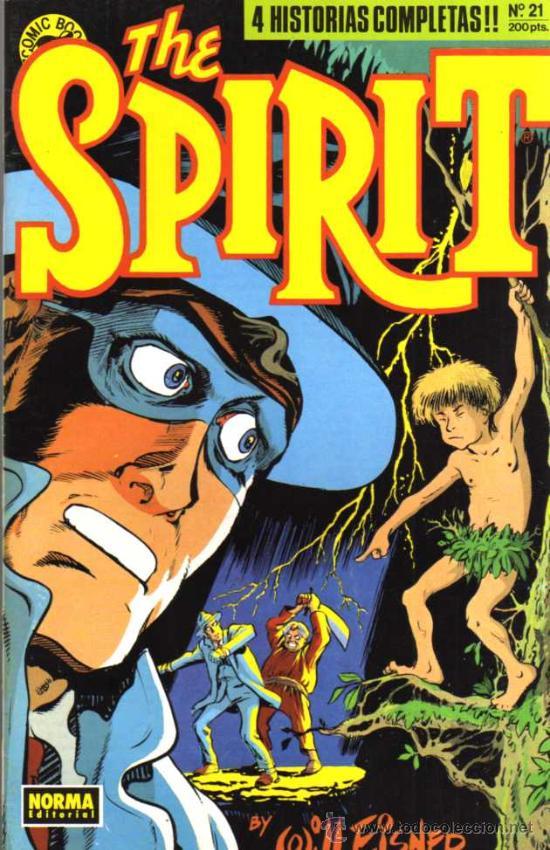 THE SPIRIT Nº 21 - WILL EISNER - COMIC BOOKS NORMA (Tebeos y Comics - Norma - Comic USA)
