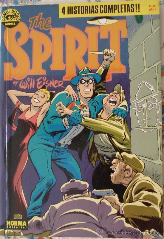 THE SPIRIT. RETAPADO DE 4 NÚMEROS CON 4 HISTORIAS COMPLETAS. (Tebeos y Comics - Norma - Otros)