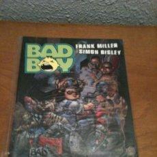 Cómics: BAD BOY (FRANK MILLER Y SIMON BISLEY) NORMA. Lote 28083752