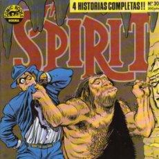 Cómics: THE SPIRIT Nº 30 - WILL EISNER - COMIC BOOKS NORMA. Lote 28093601