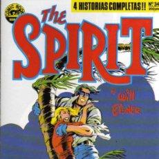 Cómics: THE SPIRIT Nº 34 - WILL EISNER - COMIC BOOKS NORMA. Lote 28093709
