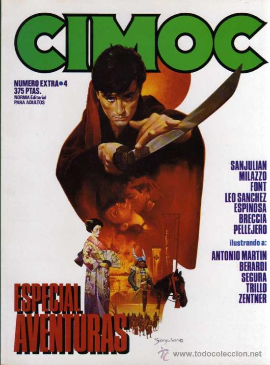 CIMOC NÚMERO EXTRA 4 - ESPECIAL AVENTURAS - NORMA EDITORIAL (Tebeos y Comics - Norma - Cimoc)