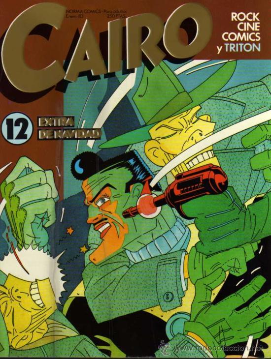 CAIRO - Nº 12 - NORMA EDITORIAL (Tebeos y Comics - Norma - Cairo)