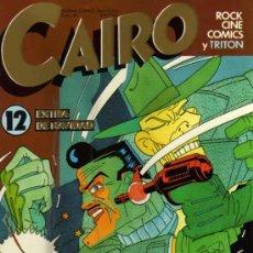 Cómics: CAIRO - Nº 12 - NORMA EDITORIAL. Lote 28241923