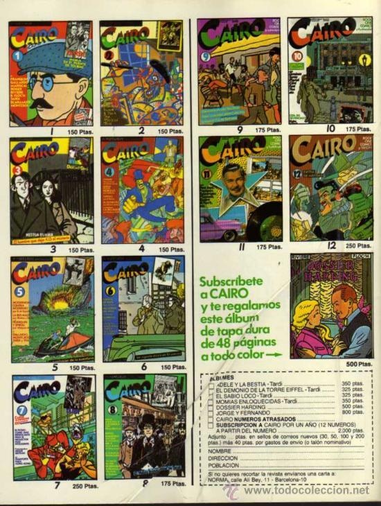 Cómics: CAIRO - Nº 12 - NORMA EDITORIAL - Foto 2 - 28241923