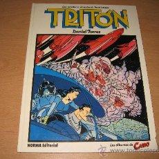 Cómics: TRITON - DANIEL TORRES .NORMA DITORIAL 1ª EDICION 1984. Lote 28524895
