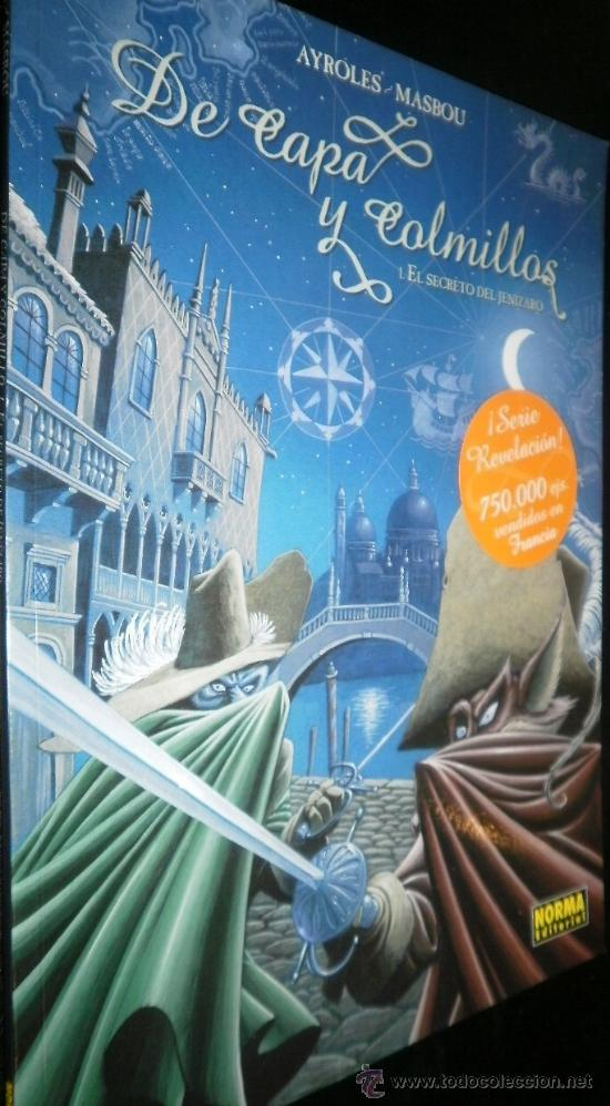 DE CAPA Y COLMILLOS TOMOS DEL 1 AL 8 ( 1, 2, 3, 4, 5, 6, 7, 8 ) (Tebeos y Comics - Norma - Comic Europeo)
