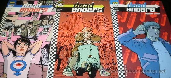 DEAD ENDERS 3 COMICS ED BRUBAKER - WARREN PLEECE (Tebeos y Comics - Norma - Otros)