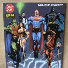 Cómics: JLA – GOLDEN PERFECT – NORMA ED. AÑO 2003 – NUEVO (PRECINTADO) - LIGA DE LA JUSTICIA DE AMÉRICA. Lote 75561166