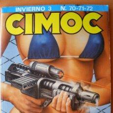 Cómics: CIMOC - EXTRA INVIERNO 3 (NUMEROS 70-71-72). Lote 29089102