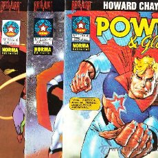 Comics : HOWARD CHAYKIN POWER & GLORY COMPLETA. NORMA 1994. Lote 29246990