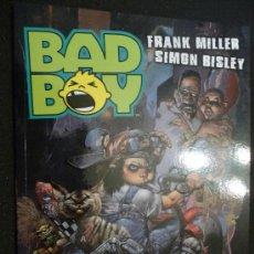 Cómics: BAD BOY. FRANK MILLER Y SIMON BISLEY. NORMA. Lote 29412743