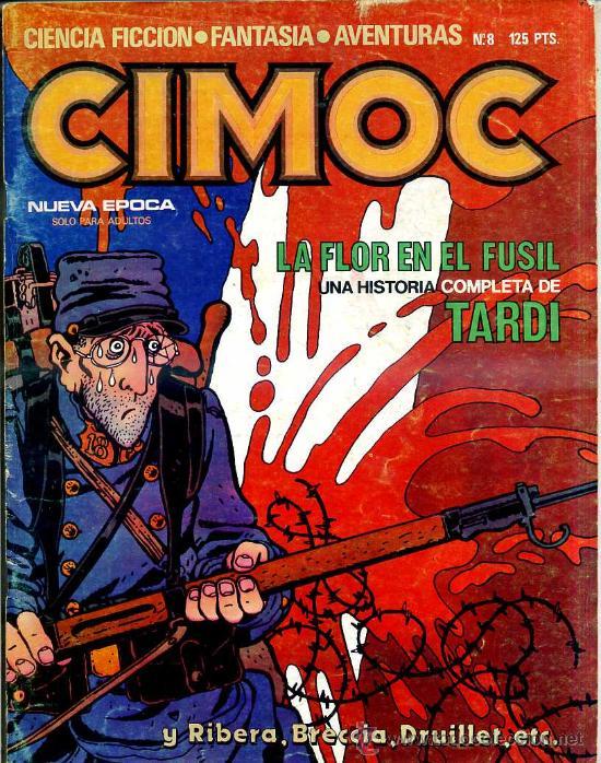CIMOC NUEVA ÉPOCA Nº 8 (Tebeos y Comics - Norma - Cimoc)