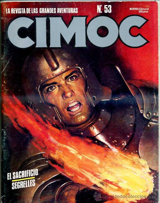 CIMOC Nº 53 (Tebeos y Comics - Norma - Cimoc)