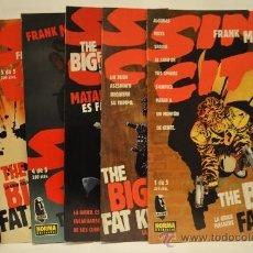 Cómics: THE BIG FAT KILL (FRANK MILLER). LEGEND - SIN CITY. ED. NORMA. AÑO 1995.COL. COMPLETA (1 AL 5). Lote 29745931