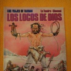 Cómics: LOS VIAJES DE TAKUAN . LOS LOCOS DE DIOS . CIMOC EXTRA COLOR Nº 71 .. Lote 29767778