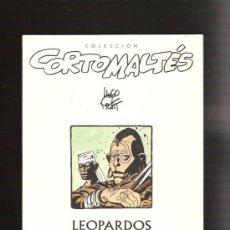 Cómics: CORTO MALTES LEOPARDOS. Lote 29822315
