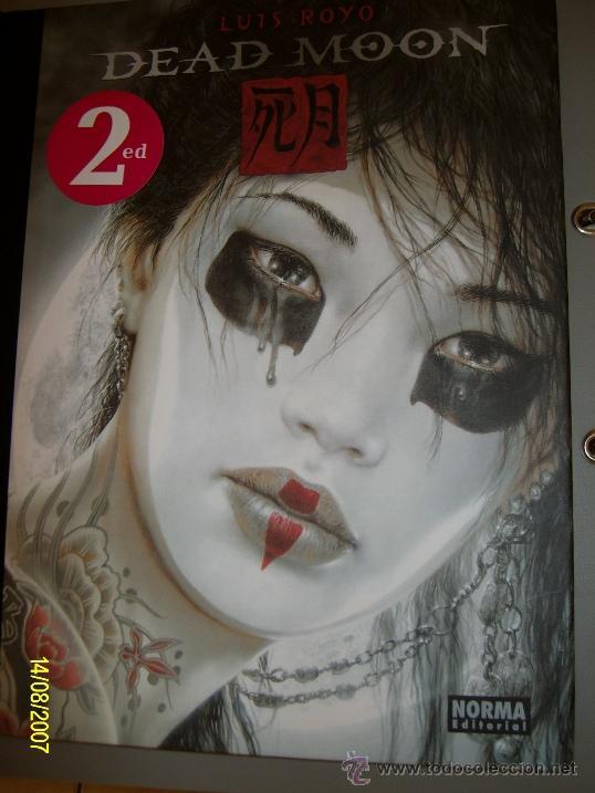 LUIS ROYO // DEAD MOON // 2011 - 2ª EDICION (Tebeos y Comics - Norma - Comic Europeo)