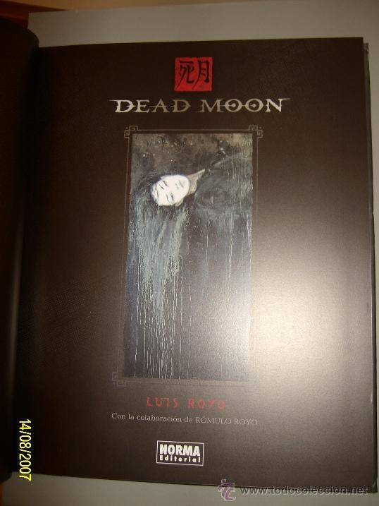 Cómics: LUIS ROYO // DEAD MOON // 2011 - 2ª EDICION - Foto 2 - 29857573
