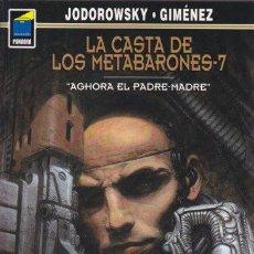 Cómics: LA CASTA DE LOS METABARONES 7 - AGHORA EL PADRE-MADRE - JODOROWSKY GIMENEZ - PANDORA NORMA. Lote 29943435