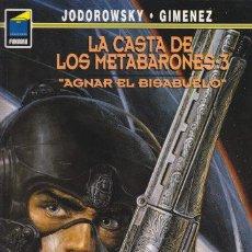 Cómics: LA CASTA DE LOS METABARONES 3 - AGNAR EL BISABUELO - JODOROWSKY GIMENEZ - PANDORA NORMA. Lote 29943439