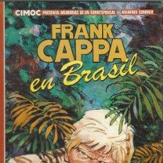 Cómics: FRANK CAPPA EN BRASIL MANFRED SOMMER TAPAS DURAS ALBUM NORMA 1983 COLOR 48 PGS. Lote 29955331