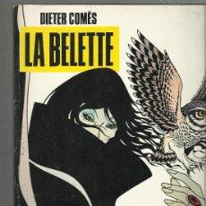 Cómics: ALBUM NORMA COLECCION BLANCO Y NEGRO Nº 7 LA BELETTE DIETER COMES 1988 . Lote 29955362