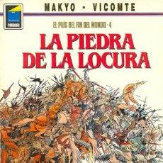 Cómics: LA PIEDRA DE LA LOCURA - EL PAIS DEL FIN DEL MUNDO 4 - MAKYO VICOMTE - PANDORA - NORMA. Lote 29963508