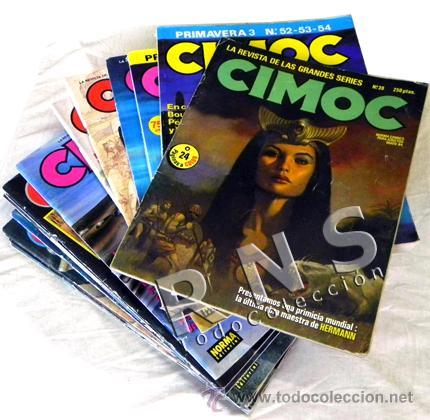 CIMOC GRAN LOTE CÓMIC DE ADULTOS - AVENTURA CIENCIA FICCIÓN ERÓTICO COMICS 74 81 86 90 91 93 118 ETC (Tebeos y Comics - Norma - Cimoc)