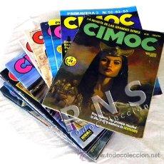 Cómics: CIMOC GRAN LOTE CÓMIC DE ADULTOS - AVENTURA CIENCIA FICCIÓN ERÓTICO COMICS 74 81 86 90 91 93 118 ETC. Lote 29974106