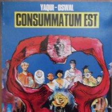 Cómics: CONSUMMATUM EST (COLECCIÓN BLANCO Y NEGRO) (NORMA). Lote 29977914