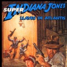 Cómics: INDIANA JONES Y LAS LLAVES DE ATLANTIS COMPLETA 4 NºS-DAN BARRY PREMIOS HAXTUR AÑO 1991- RETAPADO. Lote 30159910