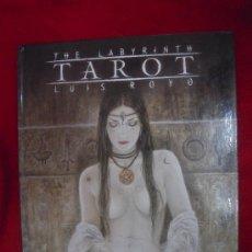Cómics: THE LABYRINTH TAROT - LUIS ROYO - 112 PAG. CON ILUSTRACIONES SOBRE LAS CARTAS DEL TAROT - CARTONE. Lote 30468013