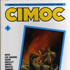 Cómics: CIMOC 1 - RETAPADO CON LOS NÚMEROS 9, 10 Y 11 - NORMA EDITORIAL. Lote 30569325