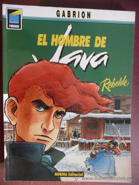 EL HOMBRE DE JAVA. GABRION. COLEC PANDORA Nº 24. NORMA (Tebeos y Comics - Norma - Comic Europeo)