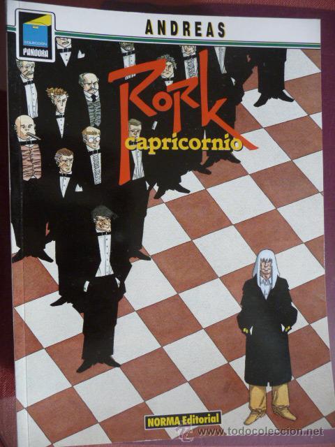 RORK. CAPRICORNIO. ANDREAS. COLEC PANDORA Nº 28. NORMA (Tebeos y Comics - Norma - Comic Europeo)
