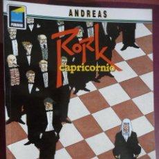 Cómics: RORK. CAPRICORNIO. ANDREAS. COLEC PANDORA Nº 28. NORMA. Lote 30824211