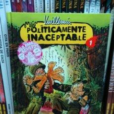 Cómics: POLÍTICAMENTE INACEPTABLE 1, DE VUILLEMIN. Lote 30880199
