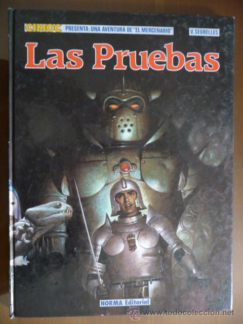 EL MERCENARIO. LAS PRUEBAS. V. SEGRELLES. NORMA EDITORIAL (Tebeos y Comics - Norma - Comic Europeo)