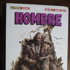 Cómics: HOMBRE. JOSÉ ORTIZ Y ANTONIO SEGURA. NORMA. ¡¡¡¡DIFÍCIL!!!!. Lote 30957374