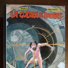 Cómics: LA GUERRA DE LOS DIOSES. ANDREU MARTÍN Y THA. NORMA. Lote 170230436