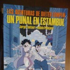 Cómics: LAS AVENTURAS DE DIETER LUMPEN. UN PUÑAL EN ESTAMBUL. ZENTNER-PELLEJERO. Lote 30968964