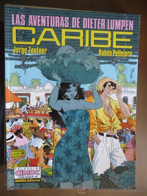 LAS AVENTURAS DE DIETER LUMPEN. CARIBE. ZENTNER-PELLEJERO (Tebeos y Comics - Norma - Cimoc)