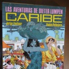 Cómics: LAS AVENTURAS DE DIETER LUMPEN. CARIBE. ZENTNER-PELLEJERO. Lote 30969056