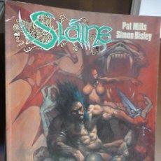 Cómics: SLAINE. EL DIOS CORNUDO. PAT MILLS Y SIMON BISLEY. NORMA. Lote 30991476