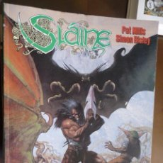 Cómics: SLAINE. LAS ARMAS SAGRADAS. PAT MILLS Y SIMON BISLEY. NORMA. Lote 30991495